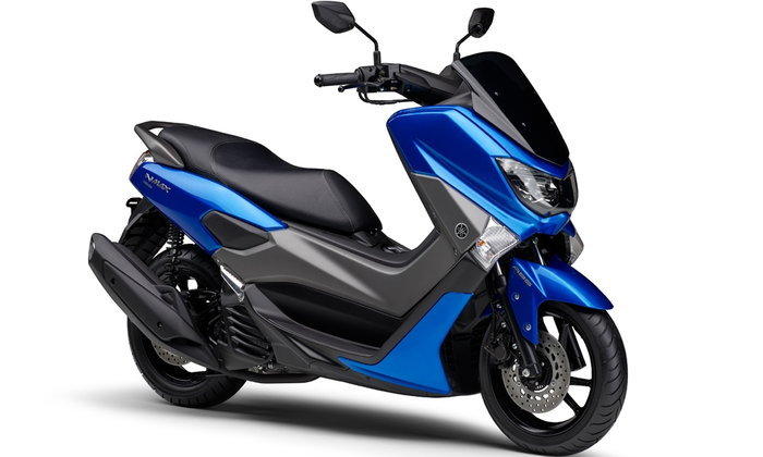 Yamaha NMAX 155 ABS 2018 เพิ่ม 2 สีใหม่เตรียมวางจำหน่ายที่ญี่ปุ่น