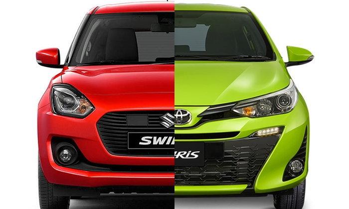 เทียบสเป็ค Suzuki Swift 2018 และ Toyota Yaris 2018 ใหม่ รุ่นท็อปสุดทั้งคู่อ็อพชั่นใครแน่นกว่า?