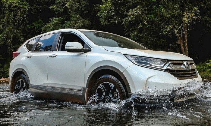 ลองขับ Honda CR-V 1.6 ดีเซล i-DTEC 2018 ใหม่ ขับชิลล์ข้ามประเทศเที่ยวลาวใต้