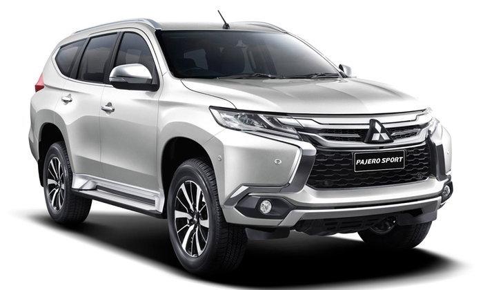 ราคารถใหม่ Mitsubishi ในตลาดรถยนต์ประจำเดือนกุมภาพันธ์ 2561