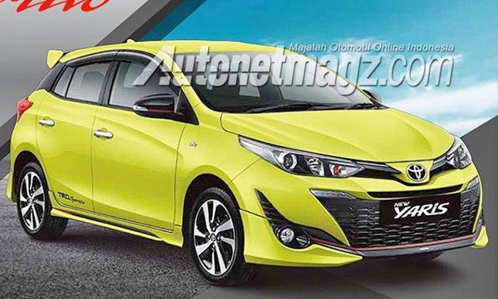 หลุด Toyota Yaris TRD Sportivo 2018 ใหม่ ก่อนวางจำหน่ายที่อินโดนีเซีย