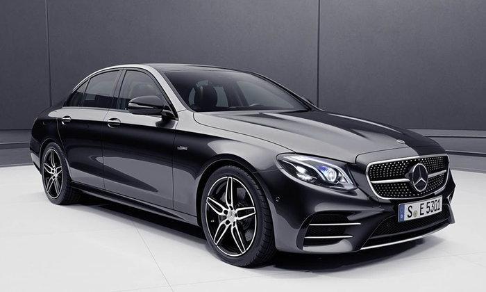 Mercedes-AMG E53 4MATIC+ 2018 ใหม่ จ่อแทนที่ E43 พร้อมขุมพลังไมลด์ไฮบริด