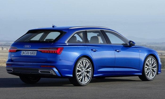 Audi A6 Avant 2018 ใหม่ เผยโฉมเวอร์ชั่นแวกอนก่อนเปิดตัวอย่างเป็นทางการ