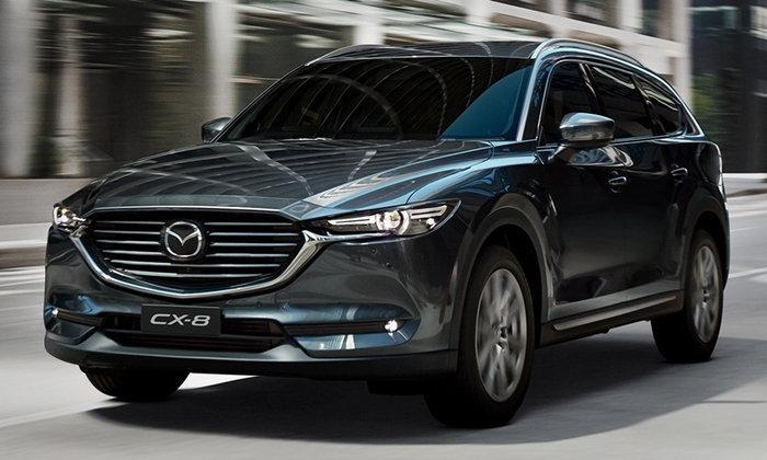 Mazda CX-8 2018 ใหม่ เอสยูวี 7 ที่นั่งเตรียมวางจำหน่ายที่ออสเตรเลียแล้ว