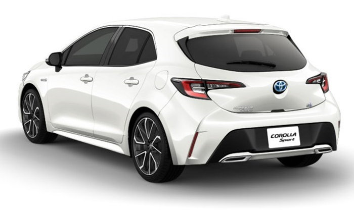 Toyota Corolla Sport 2018 ใหม่ ตัวถังแฮทช์แบ็ค 5 ประตูวางขายแล้วที่ญี่ปุ่น