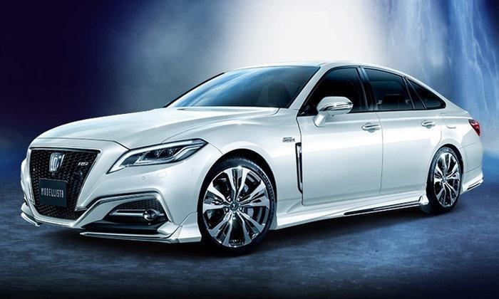 Toyota Crown 2018 เผยชุดแต่ง Modellista เน้นความสปอร์ตเต็มเปี่ยม