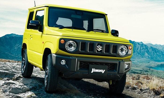 Suzuki Jimny 2018 ใหม่ ประกาศราคาจำหน่ายที่ญี่ปุ่นแล้ว เริ่ม 4.38 แสนบาท