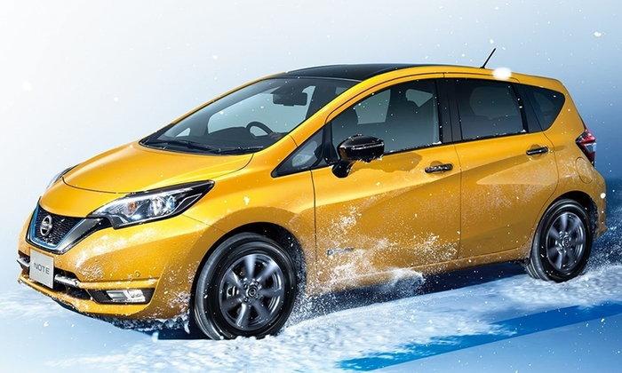 Nissan Note e-Power 2018 เพิ่มเวอร์ชั่น 4WD ในประเทศญี่ปุ่น