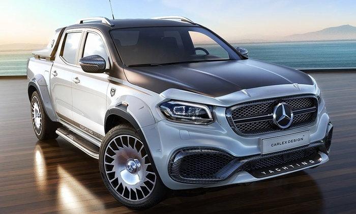 Mercedes-Benz X-Class Yatching Edition 2018 กระบะหรูคันละ 4 ล้านบาท!