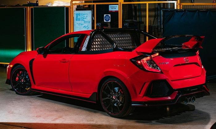 Honda Civic Type R 2018 ถูกดัดแปลงเป็นรถกระบะที่อังกฤษ