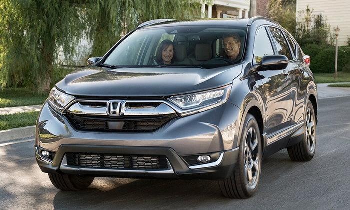 Honda CR-V 2018 ใหม่ เตรียมทำตลาดในญี่ปุ่นพร้อมเครื่องยนต์ไฮบริด