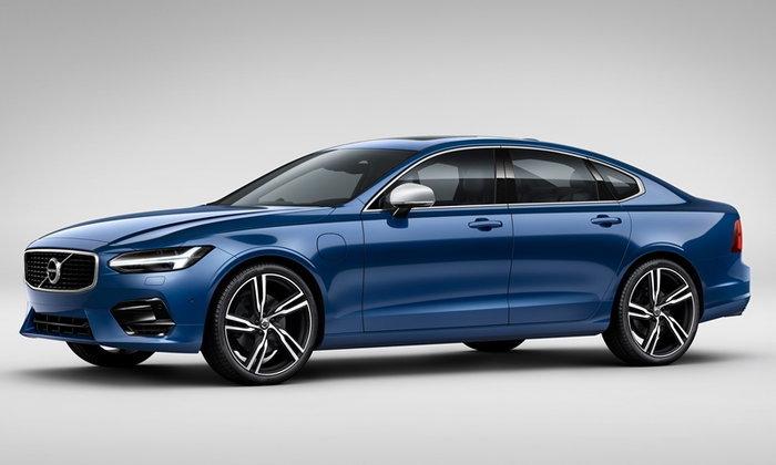 Volvo S90 T8 R-Design 2018 ใหม่ เริ่มขายจริงแล้วในไทย ราคา 3.59 ล้านบาท