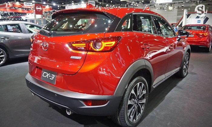 Mazda CX-3 2018 ไมเนอร์เชนจ์ใหม่ เริ่มต้น 8.79 แสนในงาน BIG Motor Sale