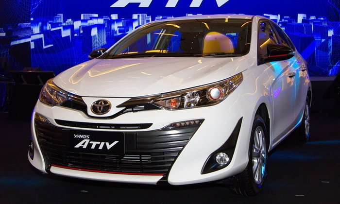 Toyota Yaris ATIV 2018 ฉลองยอดขายสูงสุดอีโคคาร์ซีดาน ดึง BNK 48 เป็นพรีเซ็นเตอร์ใหม่