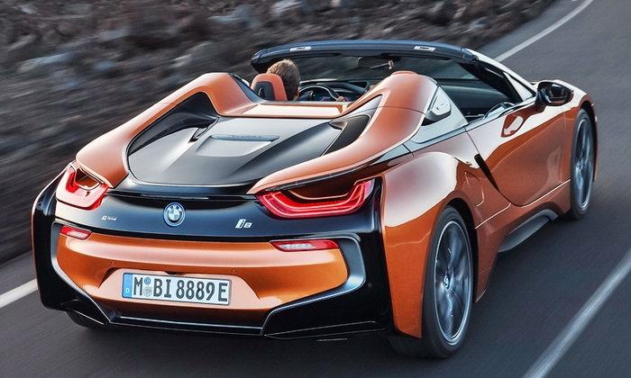 BMW i8 Roadster 2018 ใหม่ สปอร์ตไฮบริดเปิดประทุนสุดเฉียบ ราคา 12,999,000