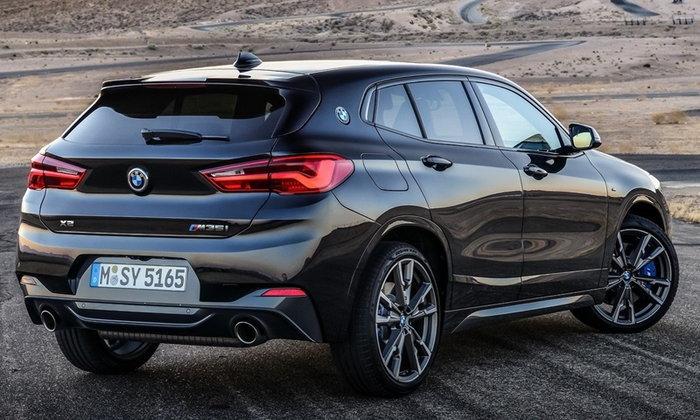 BMW X2 M35i 2019 ใหม่ พร้อมขุมพลัง 302 แรงม้าเผยโฉมครั้งแรก