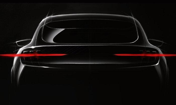 ทีเซอร์ Ford Mach 1 ใหม่ ครอสโอเวอร์ไฟฟ้าจ่อขายจริงทั่วโลกปี 2020