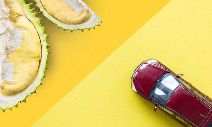 กลิ่นทุเรียนติดรถ! ต้องทำอย่างไร