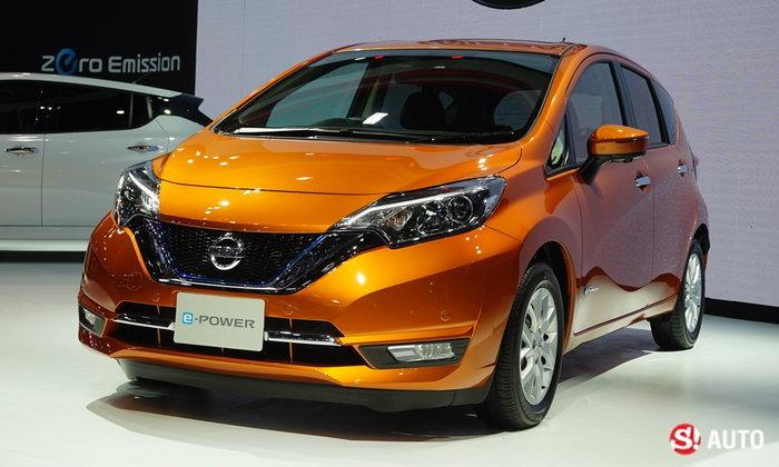 ราคารถใหม่ Nissan ในตลาดรถยนต์ประจำเดือนสิงหาคม 2561