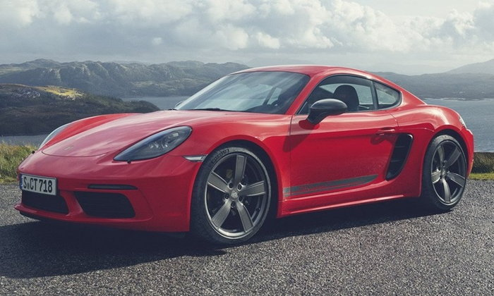 Porsche 718 Boxster T/Cayman T 2019 ใหม่ เครื่องยนต์เดิมแต่เพิ่มความฮาร์ดคอร์