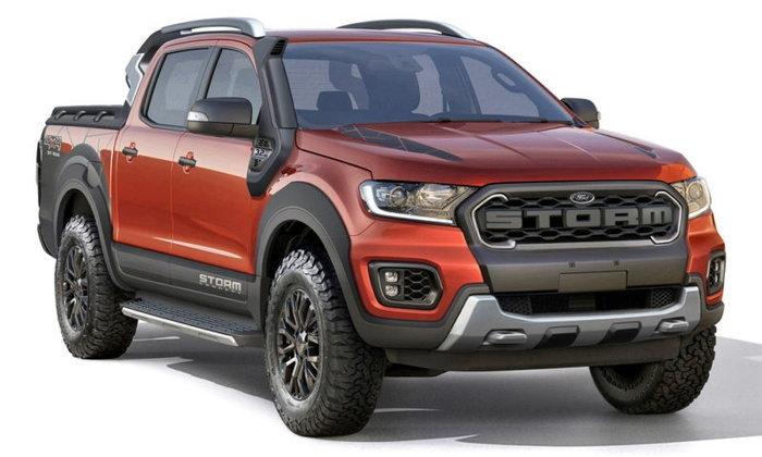 Ford Ranger Storm 2019 ใหม่ ต้นแบบเรนเจอร์พร้อมชุดแต่งโหดที่บราซิล