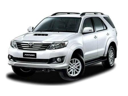 ราคารถใหม่ Toyota ในตลาดรถประจำเดือนเมษายน 2558