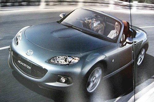 หลุดเต็มๆ โฉมหน้าว่าที่  Mazda MX-5 ปรับโฉม