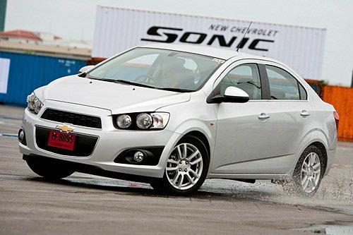 Sanook Drive : Chevrolet Sonic  Sedan 5 M/T แค่นิดเดียวยังเร้าใจ