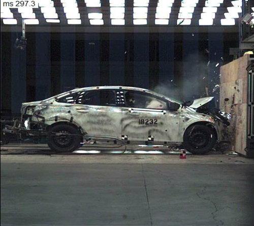 Ford Focus  ปลอดภัยจริง  ผ่านบททดสอบการชนกว่า 12,000 ครั้ง