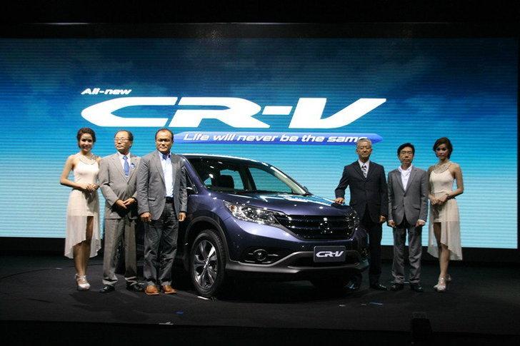 Honda  เปิดตัว  New !  Honda CR-V ประเดิมราคาจำหน่ายเริ่มต้นที 1.164  ล้านบาท
