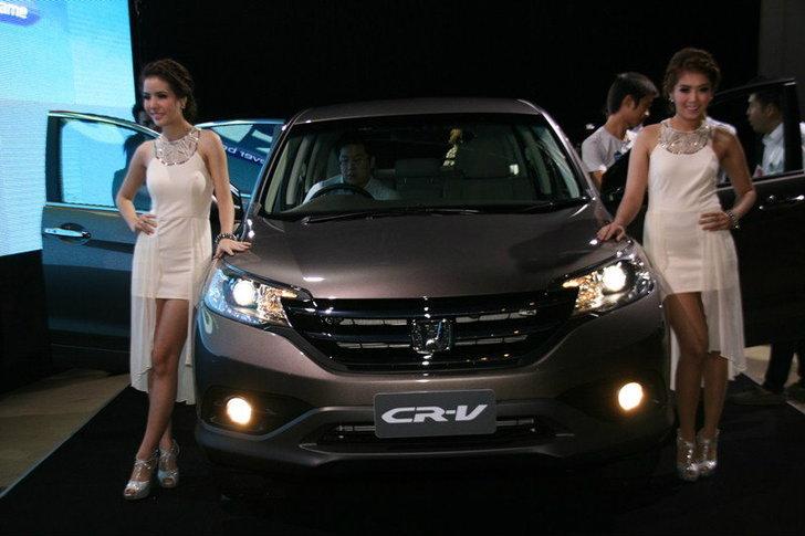 2012  Honda CR-V  แตกต่างกว่าที่คิด..ยกระดับ  SUV