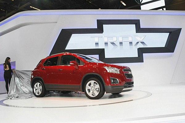 Chevrolet Trax  ว่าที่อเนกประสงค์ใหม่จากค่ายโบว์ไทน์