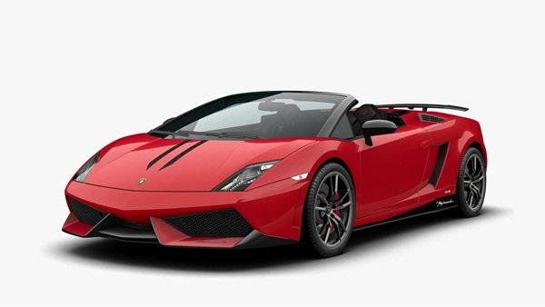 หล่อสุดติ่ง  โฉมอัพเดท  Lamborghini Gallardo  Spyder