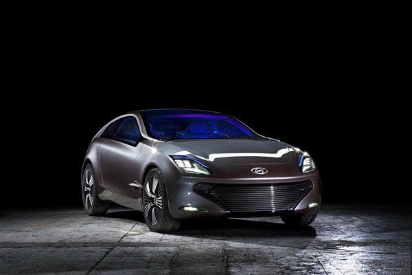 ฮุนไดอวดโฉมรถไฟฟ้า พร้อมโชว์รถต้นแบบ Hyundai i-oniq