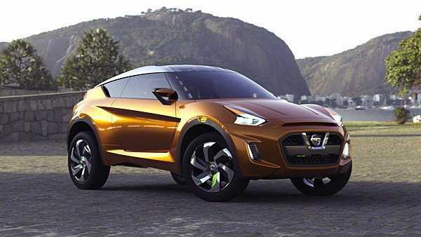 Nissan  Extrem Concept หรือนี่คือ  Nissan March  ในคราบอเนกประสงค์