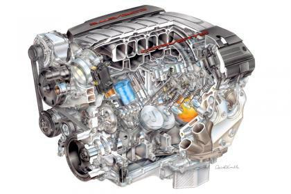 เผยต้นกำลังใหม่  Chevrolet Corvette จัด 449 แรงม้า ใน V8