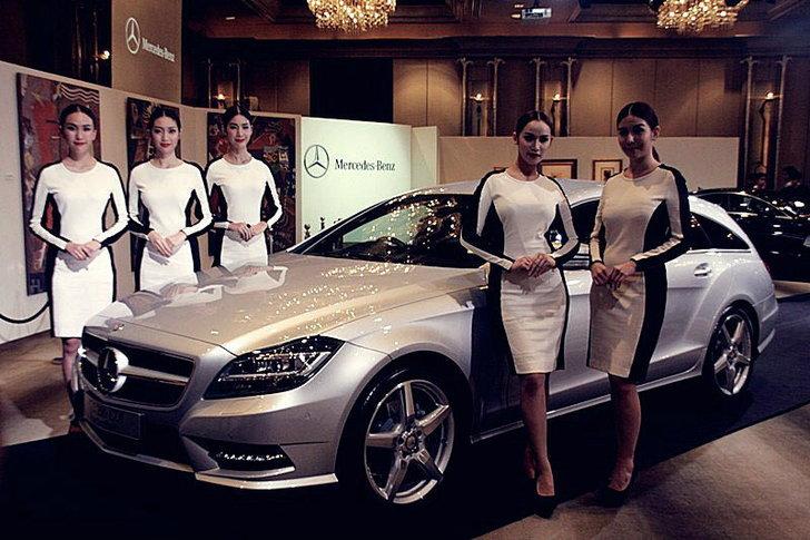 Mercedes Benz CLS Shooting Brake  เผยเรือนร่างงามของตัวหรู