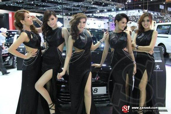 พริตตี้ PUEGEOT Motor Expo 2012
