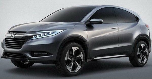 Honda Urban SUV Concept มาแล้วภาพแรกว่าที่เบบี้ CR-V