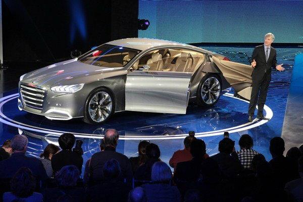 Hyundai HCD - 14 Genesis concept  ต้นแบบรุ่นใหญ่ จุดเปลี่ยนแปลงค่ายรถเกาหลี
