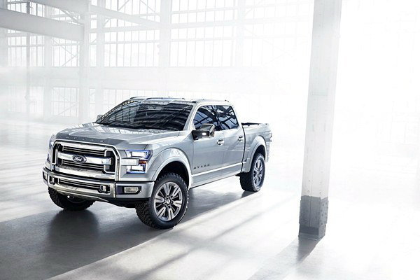 Ford Atlas Concept  เปิดผนึกว่าที่  Ford F-150