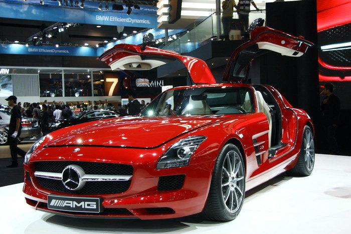 รถยนต์ Motor show 2010 -BENZ