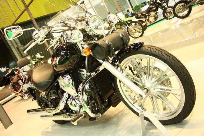 รถมอเตอร์ไซต์ Motor show 2010 -KAWASAKI