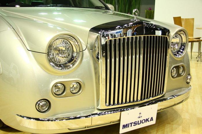 รถยนต์ Motor show 2010 -MITSUOKA