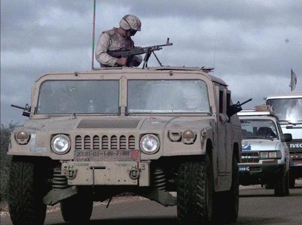 Humvee  High Mobility Multipurpose Wheeled Vehicle (HMMWV)  ยอดรถคู่ยอดนักรบ