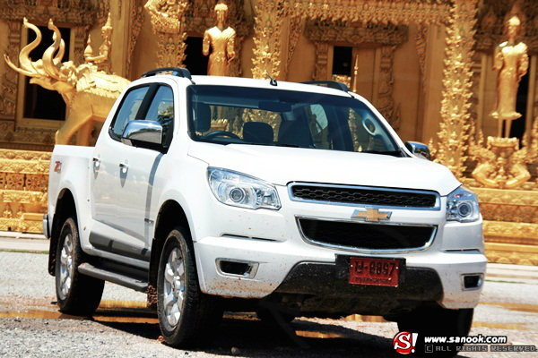 Sanook! Drive : Chevrolet Colorado Crew cab 2.8 LTZ  4 WD  ตัวจริงเรื่องทรงพลังของยอดกระบะ 100 ปี