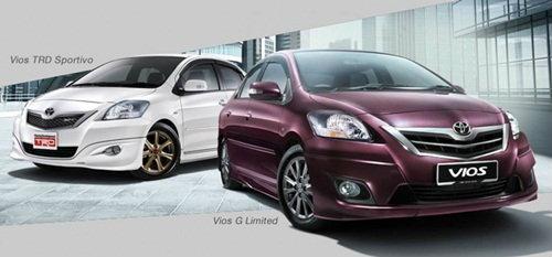 แอบดู Toyota Vios มาเลเซีย ...มันสปอร์ตดีแท้