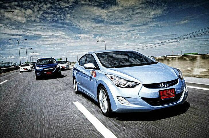 ราคารถใหม่ Hyundai  ประจำเดือน กุมภาพันธ์ 2556