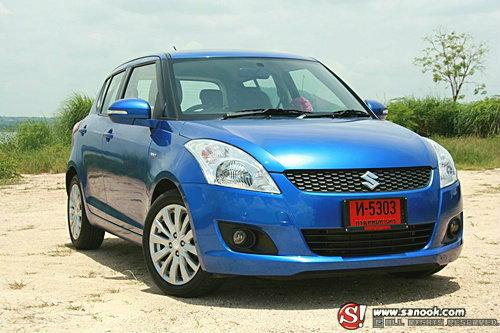 ราคารถใหม่ Suzuki ประจำเดือน กุมภาพันธ์ 2556
