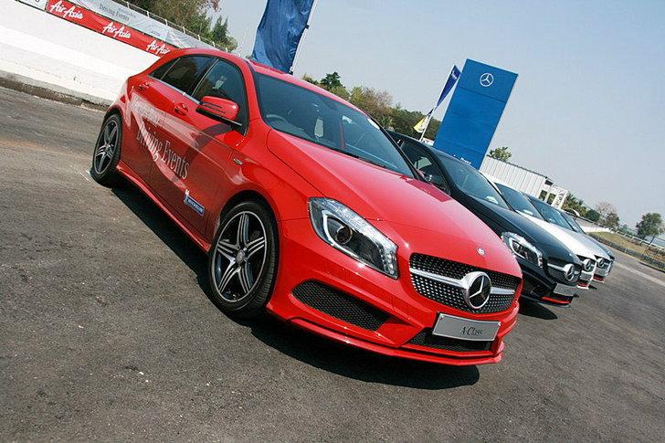 Sanook! Drive : Mercedes Benz A-Class  เร้าใจสมรรถนะเกินพอ